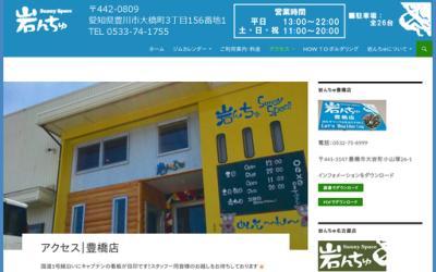 サニースペース 岩んちゅ豊橋店